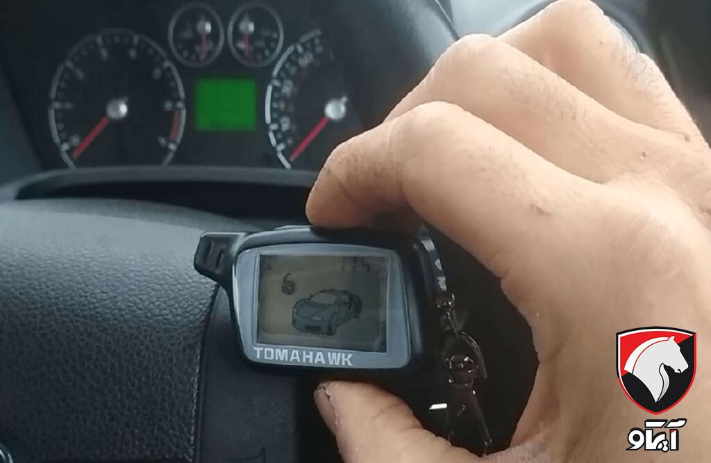 نصب دزدگیر تصویری برای خودرو