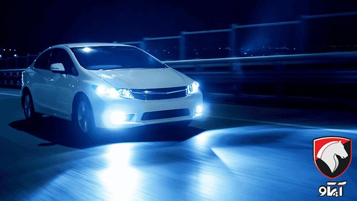 تفاوت چراغ زنونی و چراغ هدلایت خودرو