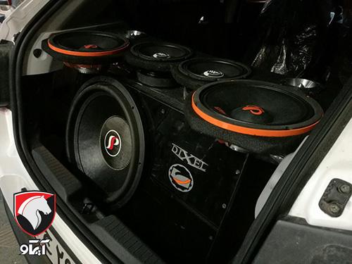 بررسی بخش های مختلف سیستم صوتی خودرو